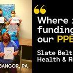 Image for the Tweet beginning: #HealthcareHeroes at Slate Belt Health