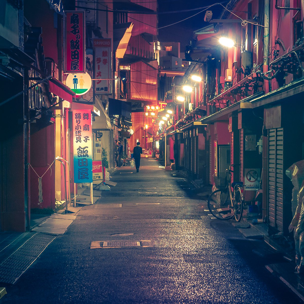 Path. Location: #tokyo #japan. Part of my Dream World #photography #night series pic.twitter.com/8LHIUblYop