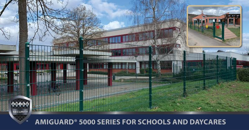 AMICO Security AMIGUARD® 5000 Series Enhances the Security of Schools & Daycare Centers. The system addresses the drawbacks of Chain Link Fencing & enhances safety! ➡️ https://t.co/NqLE3tDWOJ  ➡️ https://t.co/HV1u9j2Lwg Follow us on LinkedIn➡️ https://t.co/zdaguOGMGz https://t.co/3G7iYMCOQJ