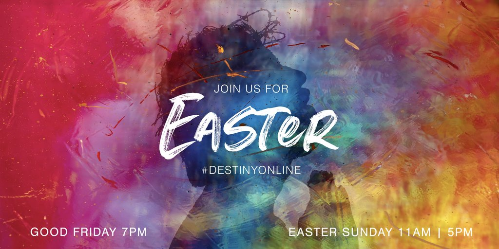Something special with you in mind!   We are so excited for this weekend🙌  Join us for Easter at    #DestinyOnline #EasterAtDestiny #WeAreDestinyFamily