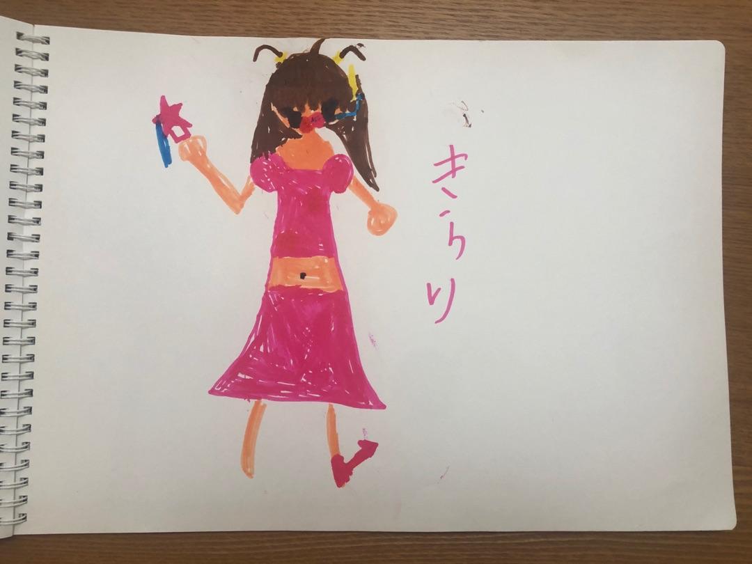 【Blog更新】 小さい頃の絵 ʚ♡ɞ 前田こころ:…  #雨ノ森川海 #RFRO #BEYOOOOONDS