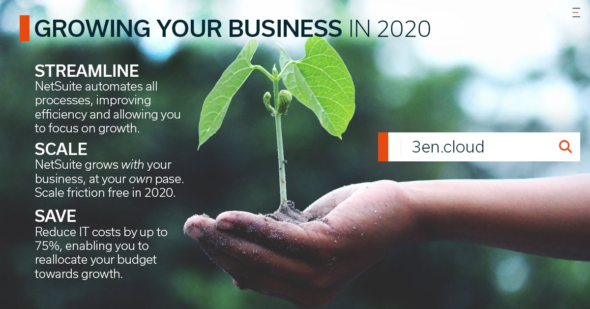 Growing your business, cutting costs and increase efficiency have never been easier.  Elevate your business with the #1 cloud business software, @oracle @netsuite.  Learn more: https://buff.ly/2QWxqAQ  #cloud #cloudcomputing #erppic.twitter.com/hKXVjhBwYb