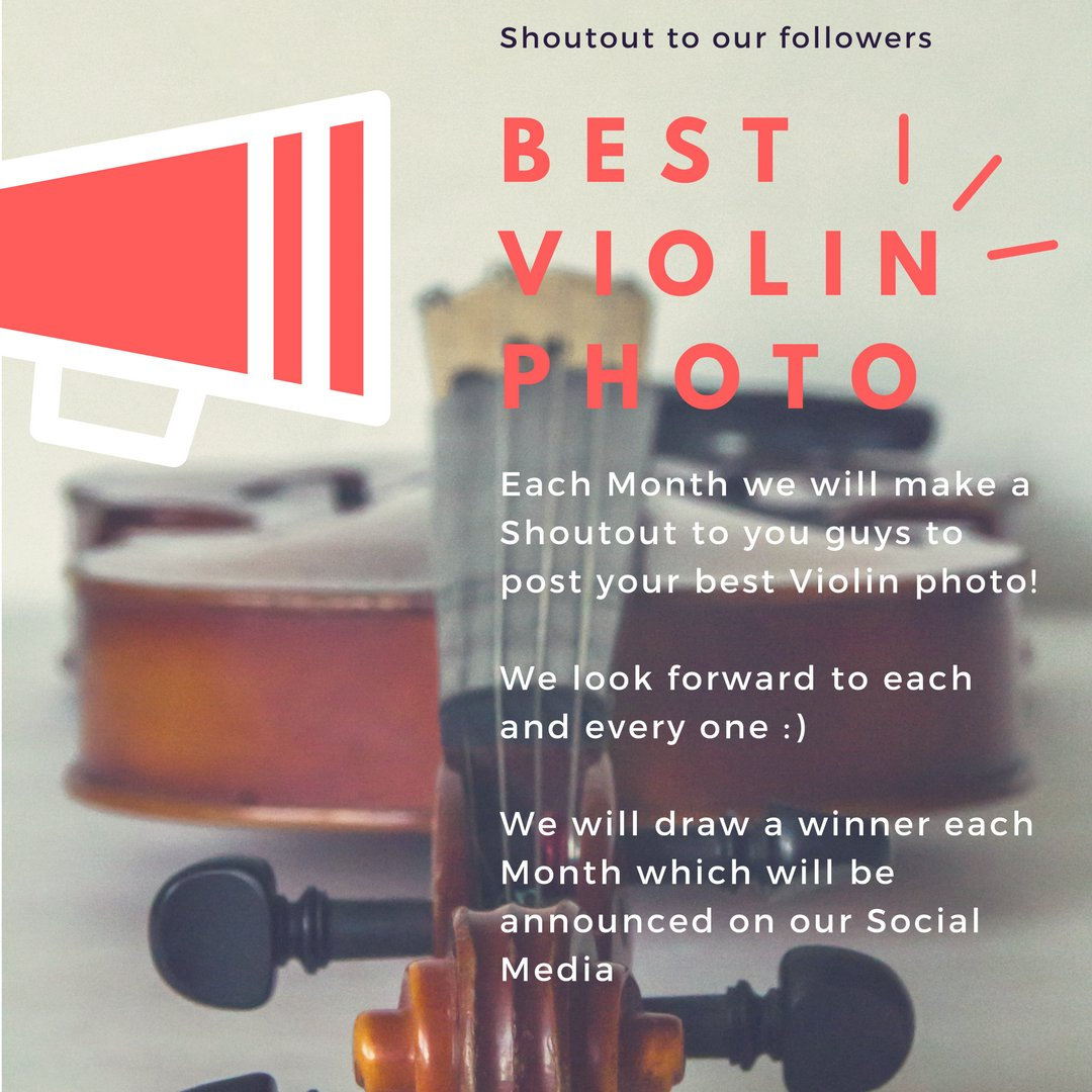 Share with us your best photo of you and your violin   #shoutout #violin #photosession pic.twitter.com/SJf6DuUUeX