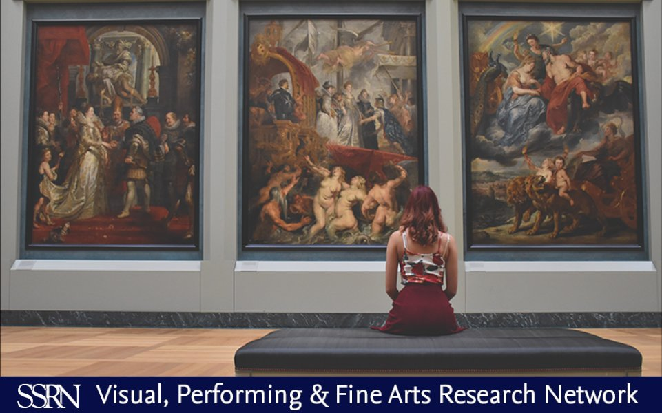 ArtsRN, now available @SSRN. Check out the newest research in visual, performing, and fine arts.   https://bit.ly/2RmwVQO pic.twitter.com/iqtJXsPaCi