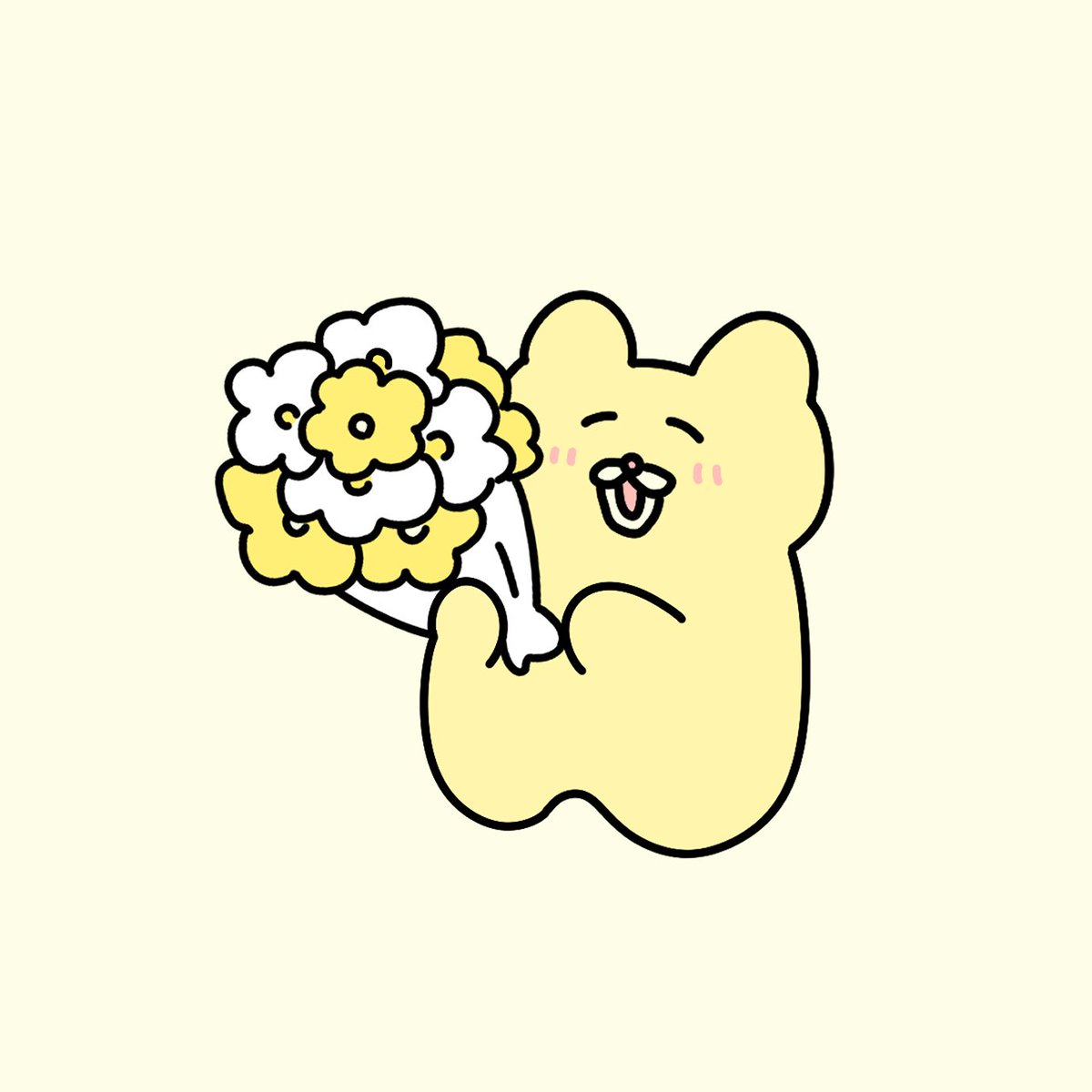Replying to @chanmedesu: なんでもない日にお花をプレゼントしちゃうチャンミー
