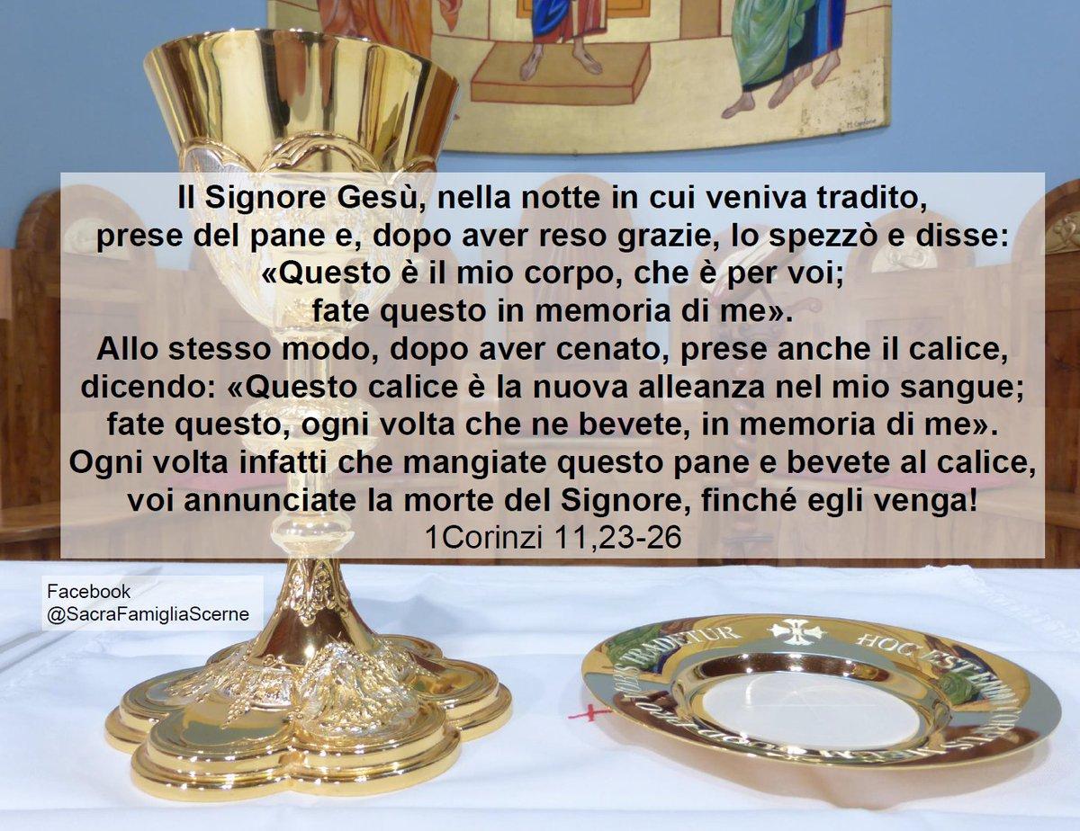 1Corinzi 11,23-26 #Bible #Biblical #reflections #Gospel #meditation #Biblereflections #Biblecomments #Passione #Dio #Gesù #GiovedìSantopic.twitter.com/EqP1xCWuk4