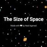 Image for the Tweet beginning: Descobreix la immensitat del espai!