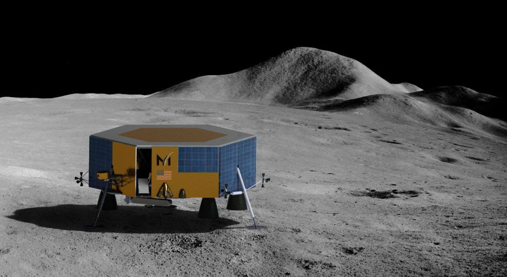 NASAが2022年の月への貨物輸送にMasten Space Systemを指名、同社の月着陸船XL-1と連携