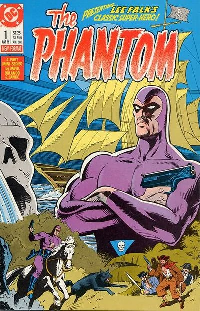 DC miniseries 1988 The Phantom