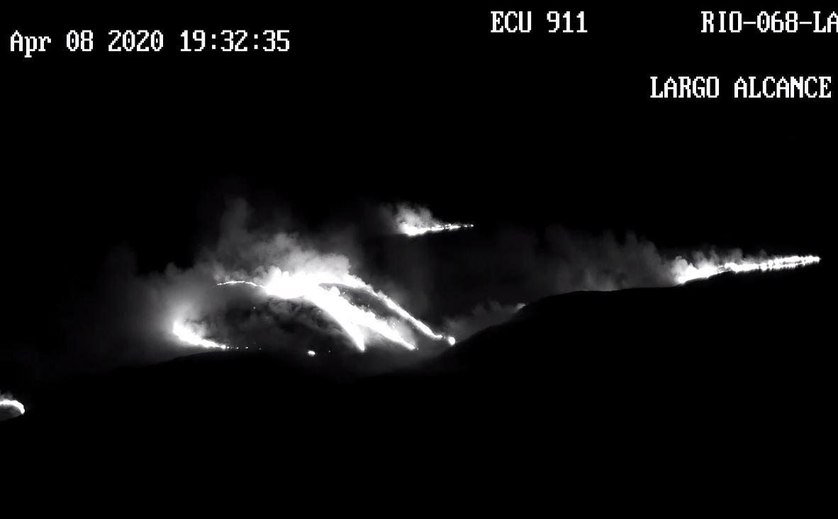 VIDEO: Se ha Controlado el INCENDIO en Chimborazo