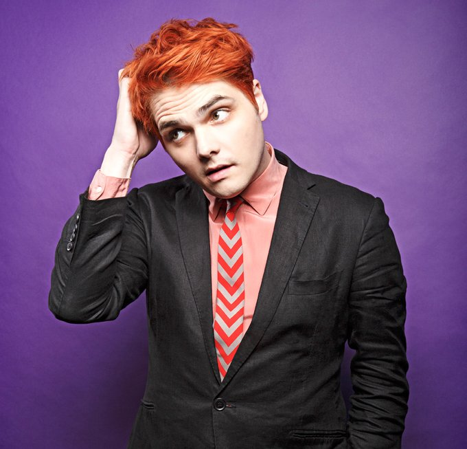 Happy 43rd birthday to the only and only Gerard Way! ( :