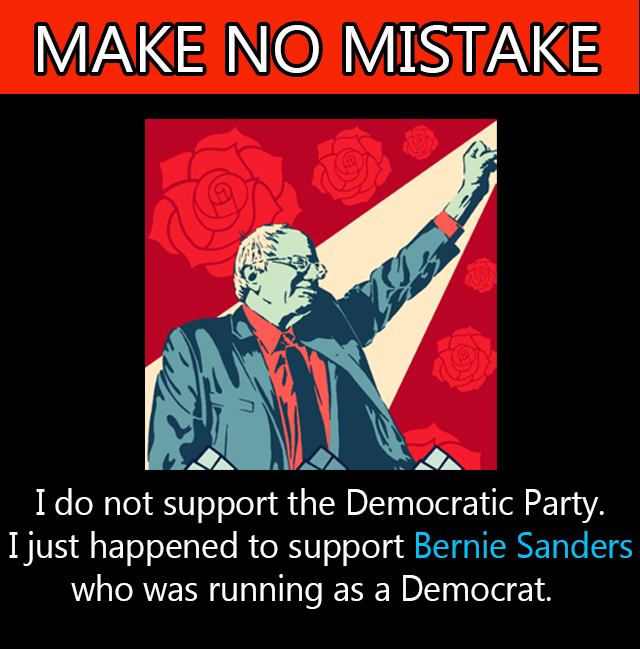 What Biden Supporters & Dems don't understand when they ask Bernie supporters to vote for him is he is emblematic of what we are fighting against. To ask us to vote against the change that is part of our DNA is to ask us to betray ourselves & all people in the USA. #NotMeUs
