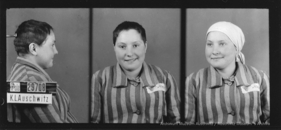 9 April 1925 | Polish woman Janina Jodłowska was born in Krakow.  In #Auschwitz from 19 January 1943. No. 29708 (political prisoner) She escaped during evacuation of the camp in January 1945. pic.twitter.com/hry2c5I2qB