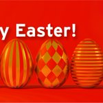 Image for the Tweet beginning: 'HappyEaster to you from team
