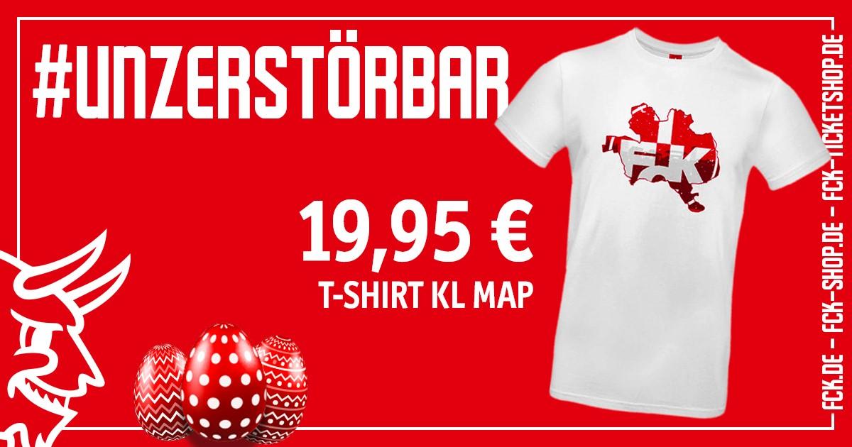 Heiße Ware  Sichert Euch dieses Shirt, auf dem unser Wappen in die Umrisse der Stadt Kaiserslautern eingebettet ist. Damit drückt ihr nicht nur die Verbundenheit zum #FCK, sondern auch die zur Stadt aus! Das Shirt könnt ihr versandkostenfrei bestellen: https://fal.cn/37uF9pic.twitter.com/iSVlbwW223