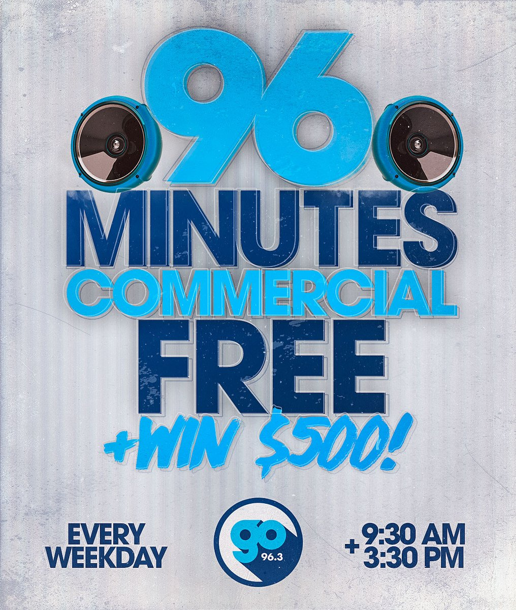 Any idea what's happening in 30 minutes? http://www.GoRadioMN.com/listen   We'll give you a $500 #CommercialFree hint pic.twitter.com/rqFtl4D9mZ