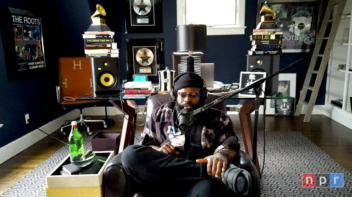 Watch @blackthought debut three new songs in his 'Tiny Desk (Home) Concert' 🔥 onsmash.com/s/smv8p