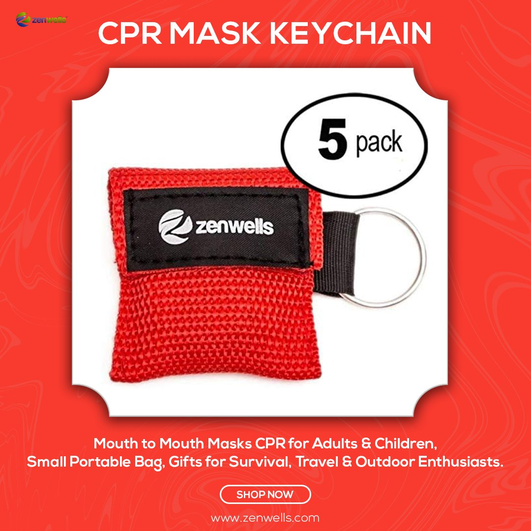 PROTECT YOURSELF! CPR Face Shield Keychain Prevents Mouth-to-Mouth Contact and Risk of Infection or Contamination.  Order now: https://amzn.to/2ythz6p  #medkit #zenwells #emergencykit #survivalkit #thermalblanket #emergencyblanket #firstaidkit #cprmasks #cprmaskkeychainpic.twitter.com/TCLi1dfpnA