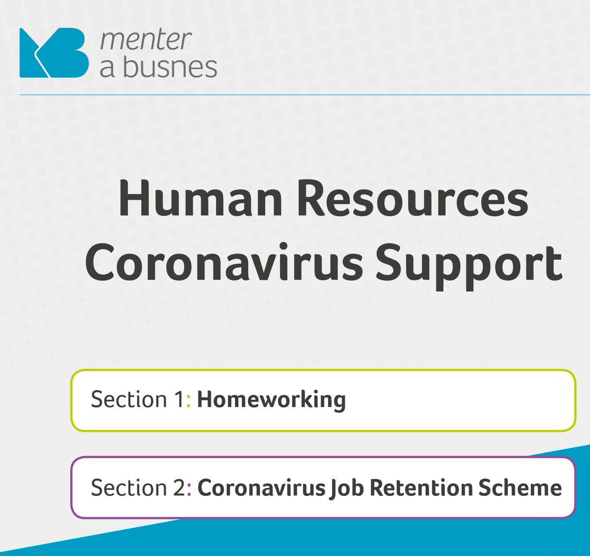 Useful round up of the COVID #HR support for business, available bilingually, compiled by @menterabusnes . It explains the support available and the key considerations menterabusnes.cymru/wp-content/upl…