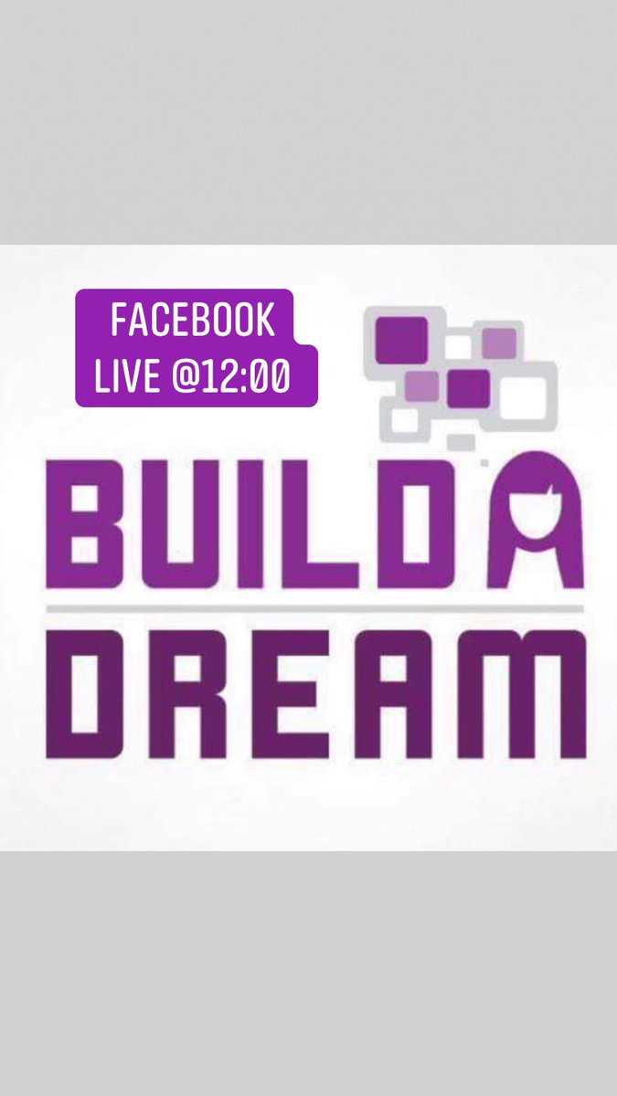 Watch me live today at noon @Build_ADream. Hosted by @Nour_hach. See you soon!   #yqg #buildadream #webuildadream #womenintradespic.twitter.com/c2RF9xdVCJ