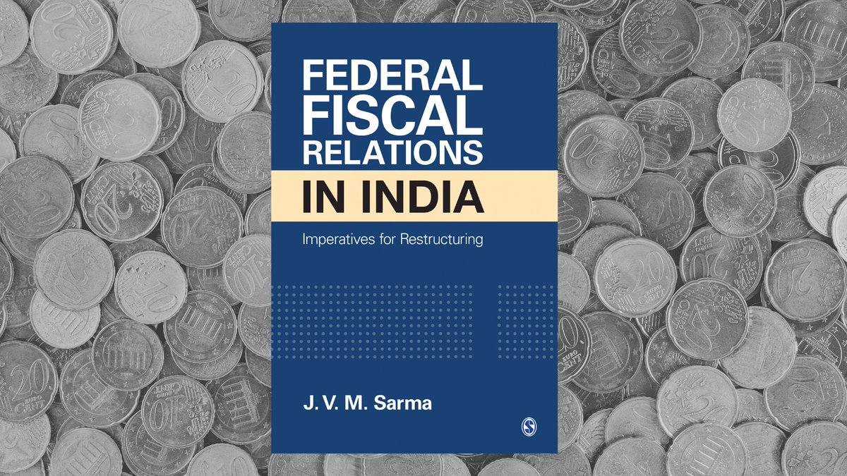 India is an ideal case of adopting the federal form of government, and yet, even six decades later, its federal fiscal sharing system remains thorny. To know more, download the #Kindle version of Federal Fiscal Relations in India@ ow.ly/yaQN50z6bO6