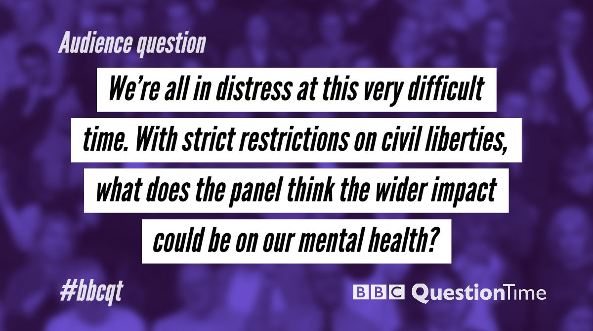 Fiona is putting your Twitter comments to our panel tonight. Reply below with #bbcqt to join in.