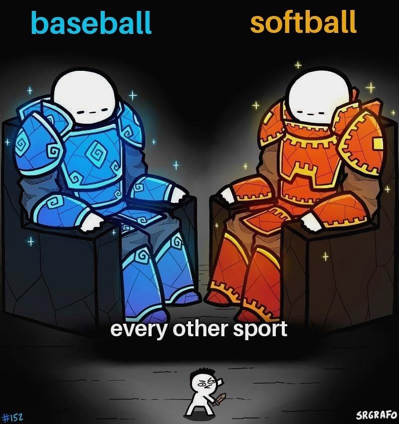 What do you think of this ? : @soft.ballmemes  . . . . #softballislife #softballseasonpic.twitter.com/ZWf1cgwstf
