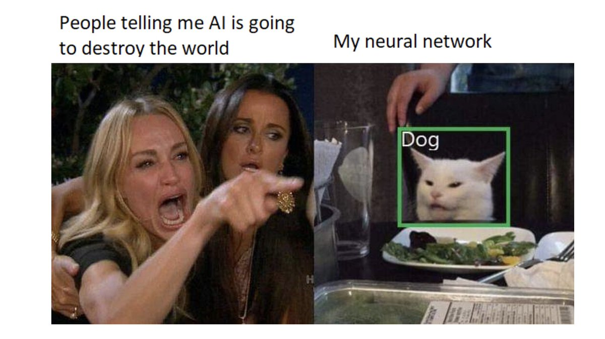 Nice Article:  3 Reasons Why We Are Far From Achieving Artificial General Intelligence  https://www.sicara.ai/blog/artificial-general-intelligence…  #AI #neuralnetworks pic.twitter.com/gX6ZBMfyiz