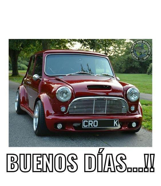 Buenos días, ánimo #autoscoleccion #auto #retro #cuarentena #oldcars #estilo #oldcar #mini #minicoopers #stayhome #buenosdias #quedateencasa @Imagen_Puebla @ferperezcorona @fredyacob @MagalyHerrera @eguibarjr @shupua @Mercomatic @gfp2099 @QuirkyRidespic.twitter.com/yCxVCgl48B