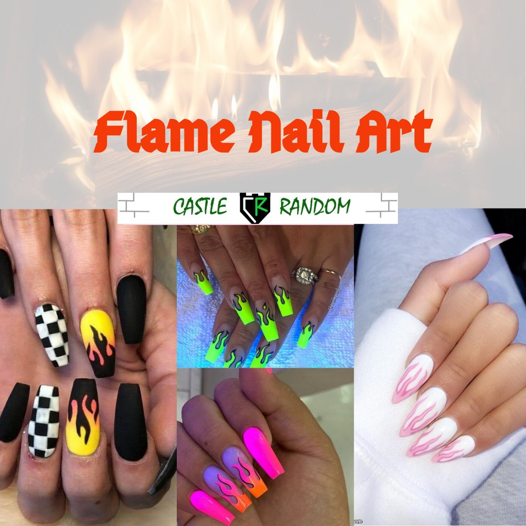 If you're looking for #nails with #summervibes- then flame nails are just for you  #Flames #Summer2020 #nailsofinstagram #nailart https://buff.ly/34vlV9ipic.twitter.com/qwjhEpJ1ug
