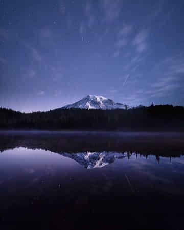 Mount Rainier. Washington. by Tanner Wendell Stewart  #Photography