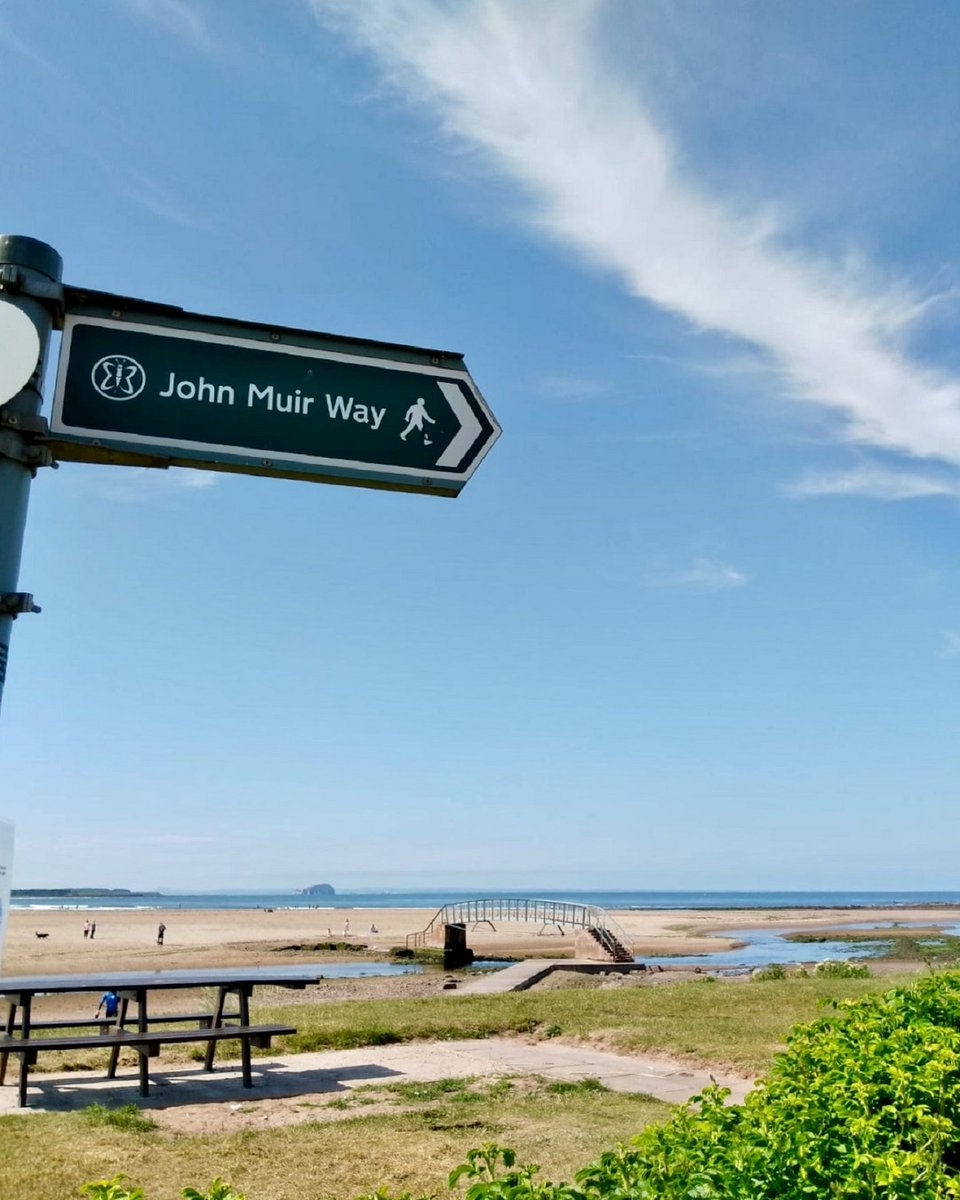 At this time of the year we like to highlight what's on to celebrate #JohnMuir in #eastlothian. While there are no events right now, you can exercise by taking a walk, cycle or run along the #johnmuirway if you live nearby #staysafe #easter2020  http://ow.ly/44Nb50z9M87 pic.twitter.com/tXAfjw1Z7x