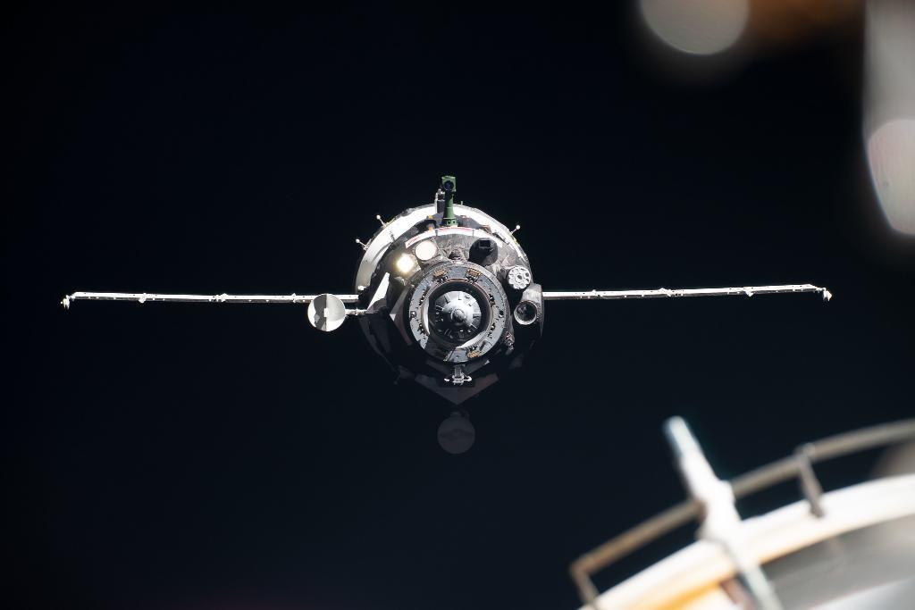 Союз МС 16, фото НАСА