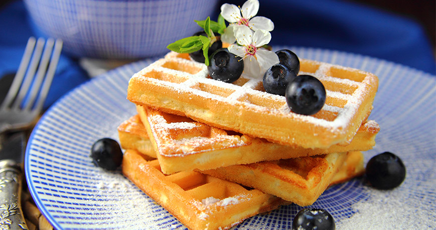 Ready to step up your waffle game!? http://ow.ly/5vym50z0gDA  #foodies #waffles #belgianwaffles #blueberries #cooking #foodlovers #lovefood #goodfood #breakfast #recipes #dessert #yummy #deliciouspic.twitter.com/1MQ9DL1vnL