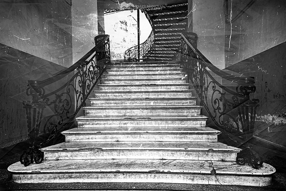 #Old #staircase ~ #Homes~ _ #Monochrome city Tbilisi 2019 #harrymanoyan #monochromecitytbilisi 2019 © Harry Manoyan #photography