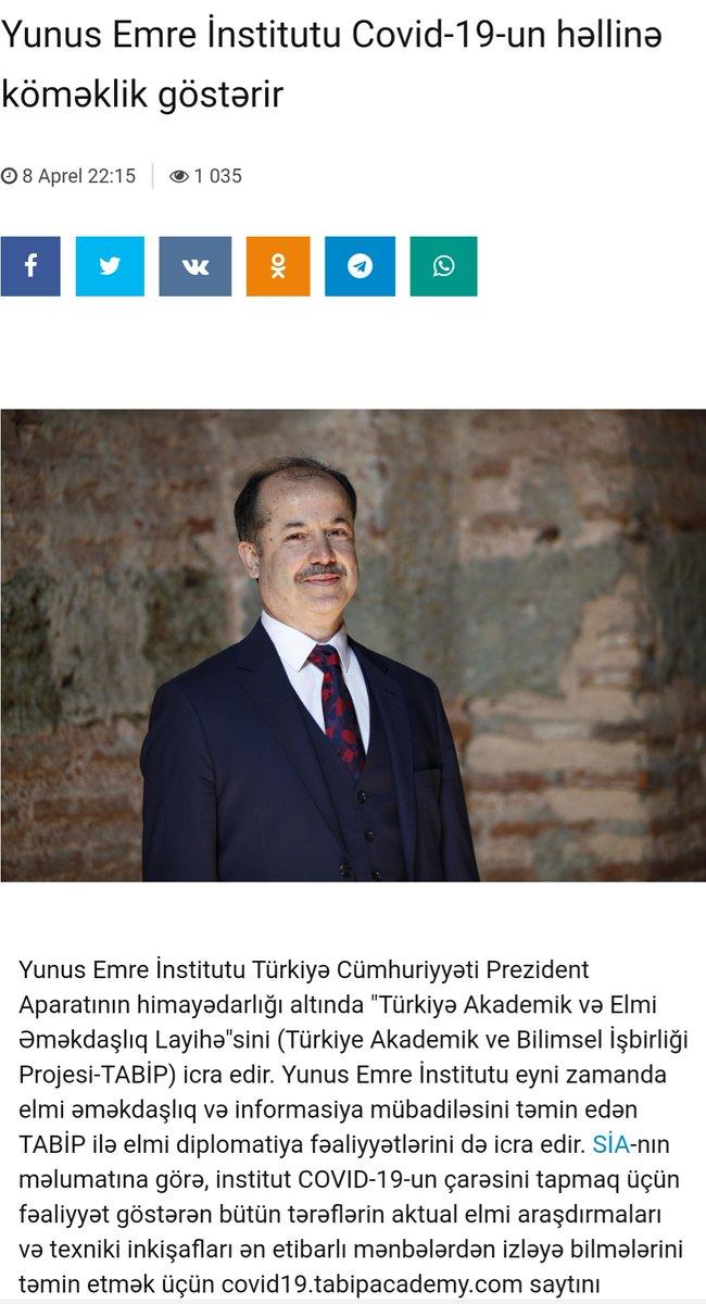 #BasındaBiz TABİP-COVID 19 Hub ile ilgili Aztag ve #Azerbaycan basınında çıkan haberleri sitemizde bulabilirsiniz.  https://azertag.az/xeber/Yunus_Amre_Institutu_COVID_19_un_helline_elmi_diplomatiya_ile_komeklik_gosterir-1457703… https://sia.az/az/news/world/798667.html… http://yeniazerbaycan.com/Dunya_e52834_az.html… https://www.moderator.az/news/319052.html… https://yenicag.az/yunus-emre-institutu-covid-19-un-helline-elmi-diplomatiya-ile-komeklik-gosterir/… https://yenigundem.az/yunus-emre-institutu-covid-19-un-helline-elmi-diplomatiya-ile-komeklik-gosterir/… @yeeorgtrpic.twitter.com/sjG3jgiLOg