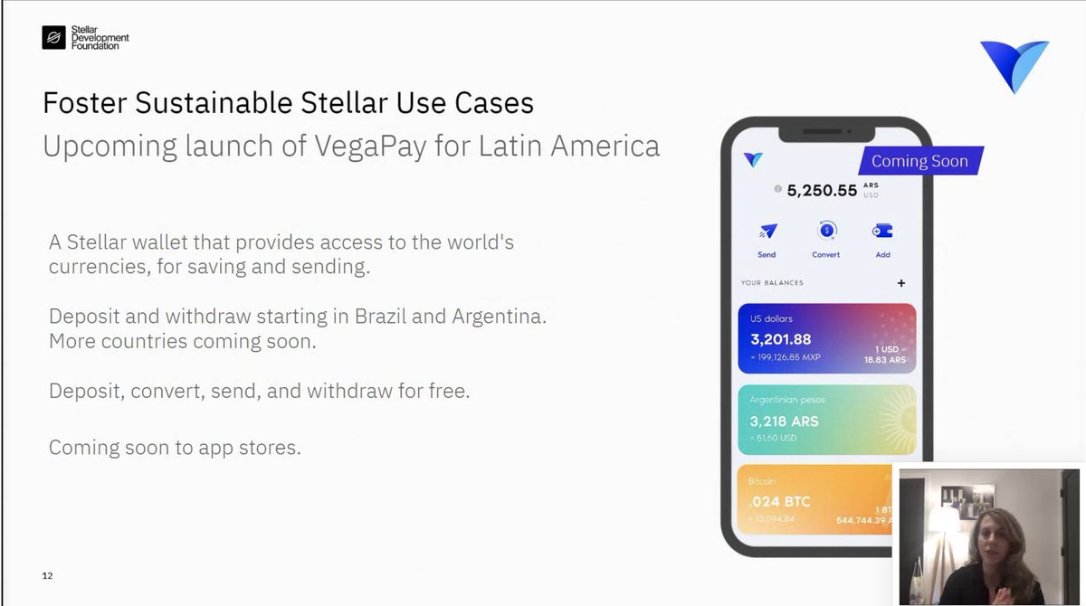 VegaPay will be live and available in app stores in few months! @StellarOrg #StellarFamily #XLM #LatinAmerica  pic.twitter.com/DRn4HSwKYR