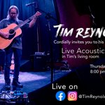 Image for the Tweet beginning: Tim Reynolds will be performing