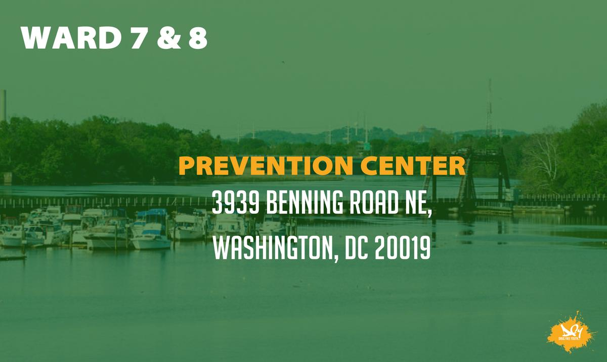Our DCPCs are dedicated to helping you find the resources you need to keep your community drug-free. The DC Prevention Center for Wards 7 & 8 is @Wards78DCPC. Follow them to know what's happening near you.