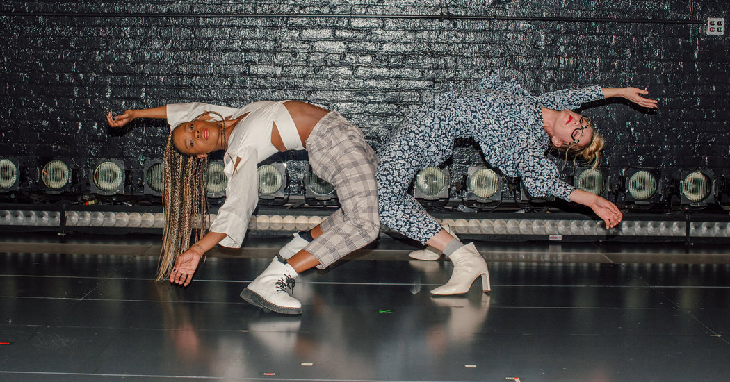 """Don't Box Them In. Their #Dancing Belongs to the World.: Heather Lang and Ebony Williams of """"Jagged Little Pill,"""" talk about their work on Broadway and dealing with life on pause. https://www.nytimes.com/2020/04/09/arts/dance/jagged-little-pill-dance.html?utm_source=dlvr.it&utm_medium=twitter…pic.twitter.com/EDZEsnqAA1"""