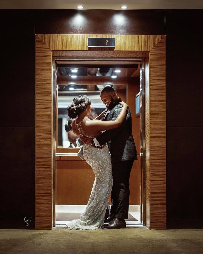Love on the 7th floor  Photography& caption - @focusnblur  Makeup- @mzl4wson  #BellaNaijaWeddings https://ift.tt/2ImTa3Dpic.twitter.com/TQcNkNuMww