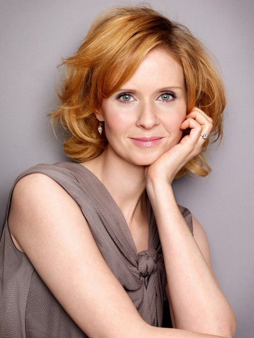 Happy birthday  Cynthia Nixon(Miranda/ Sex& the city)