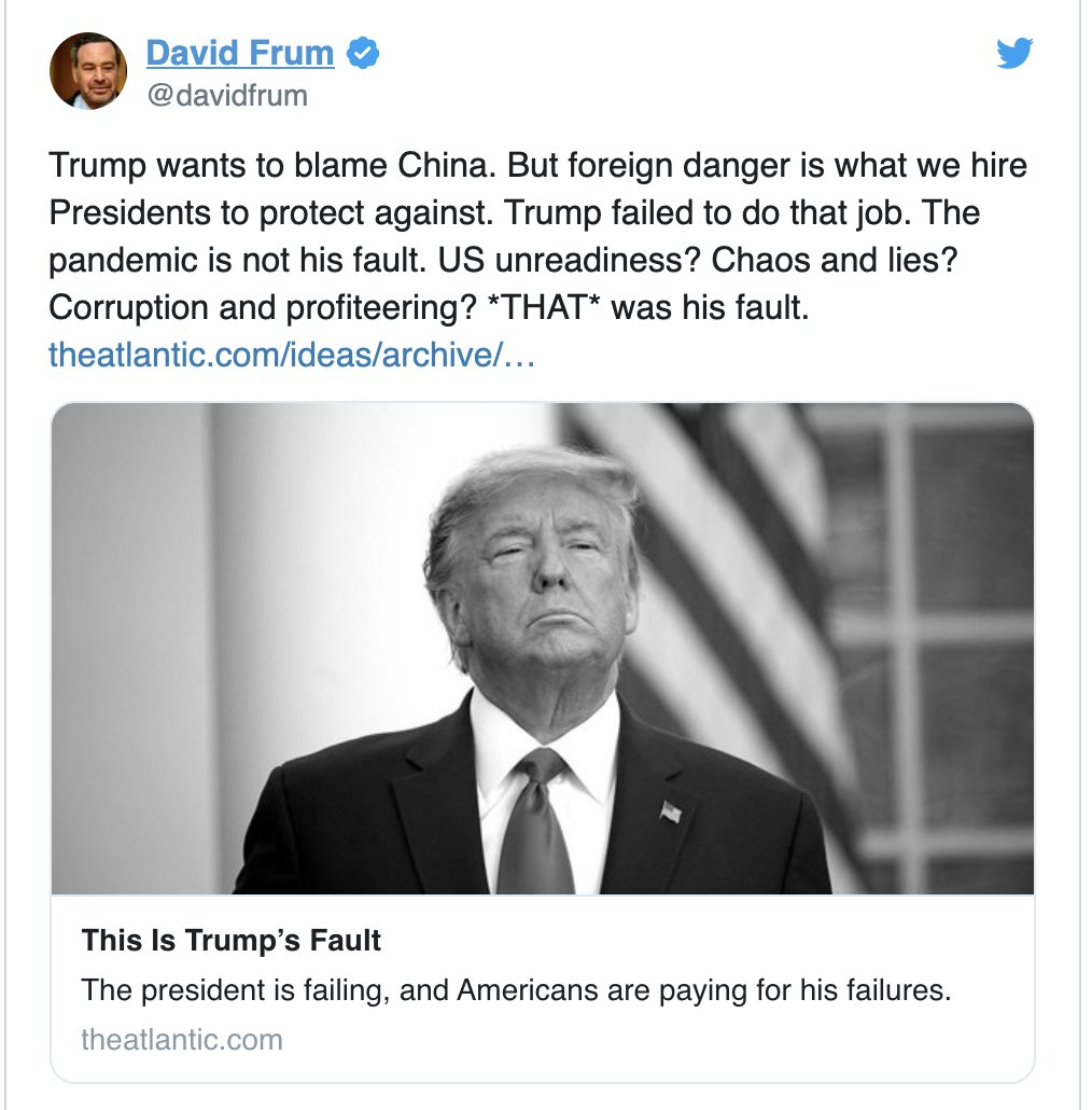 Replying to @davidfrum: Thanks for the retweets @FoxNews