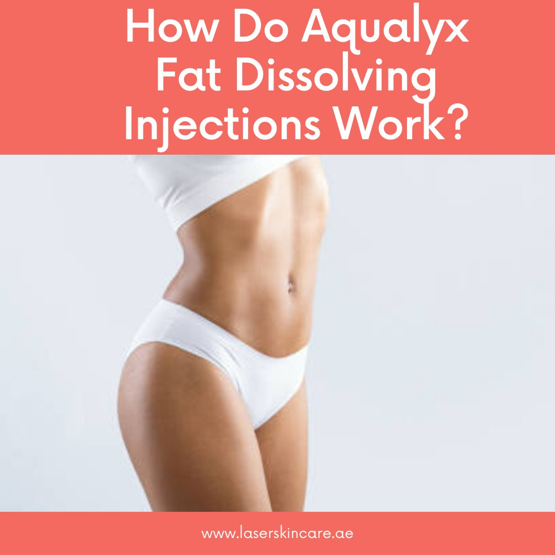 How Do Aqualyx Fat Dissolving Injections Work?  Fat-dissolving injections can help you to make your body shape slimmer, more contoured shape with long-lasting results.   Read More:   #aqualyx #fat #fatloss #injection #laserskincare #skincare #health #beauty