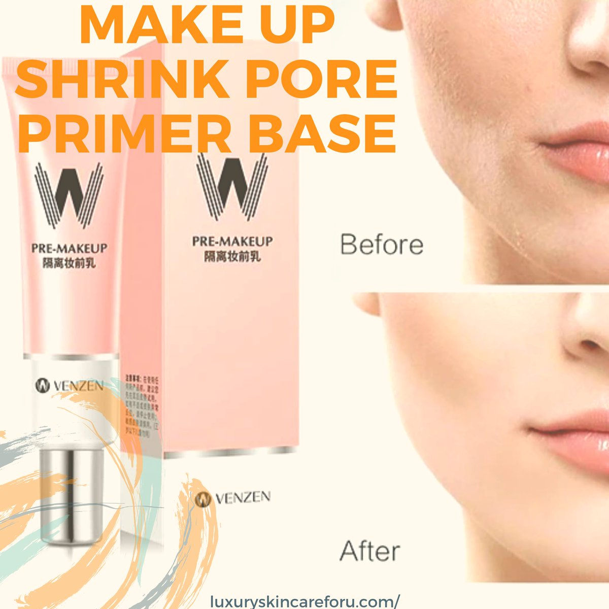 Make Up Shrink Pore #beautyproducts #skincareproducts #skincare #beauty #beautytips #luxuryskincare4u #onlineshoppingstore #verifiedproducts #glowingskin #glowingskincare #lips #fashion #business #lifestyle #businesslifestyle #beautybloggers  #instagramfashionblogger #twitter