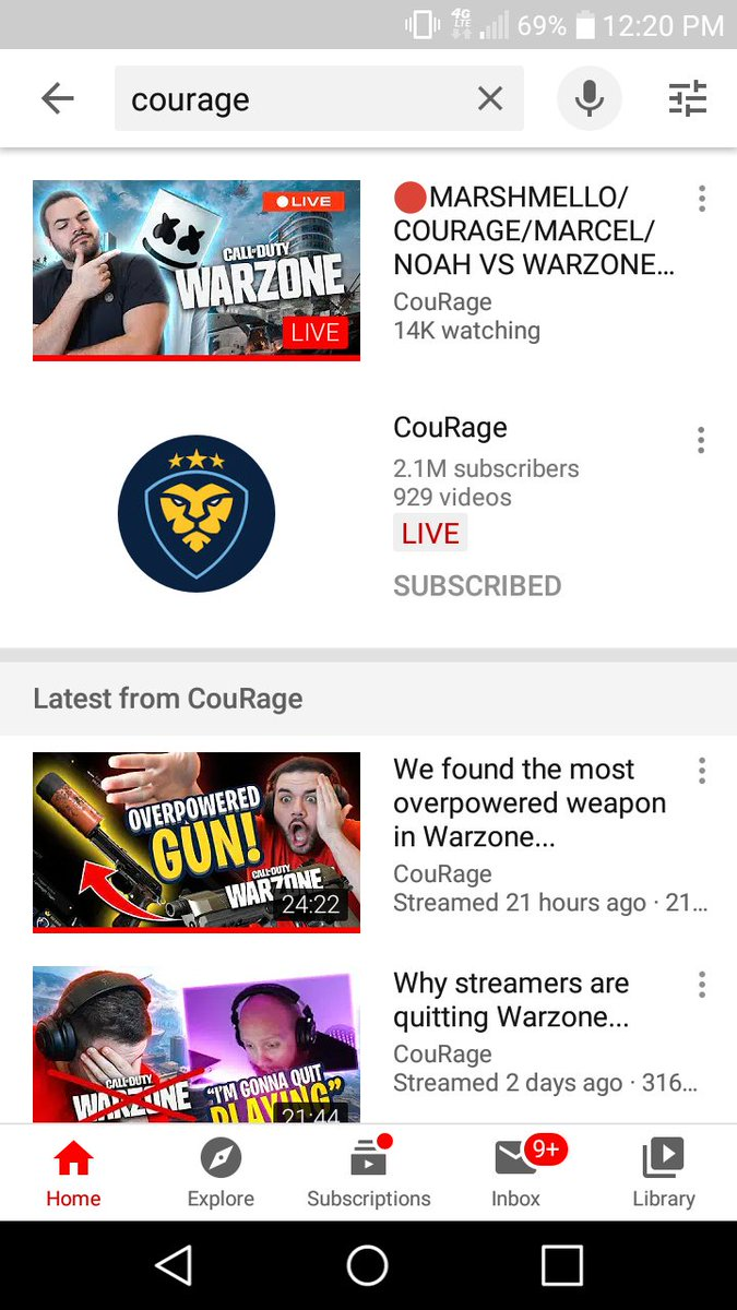 I've been subscribed to the channel for around a year now.. The only streamer/content creator/professional gamer that can keep me intrigued in his every day life, streams, and uploads. Thanks for showing me and so many others how to have courage. @CouRageJD BECOME A MEMBER TODAYpic.twitter.com/AquGccsuPO