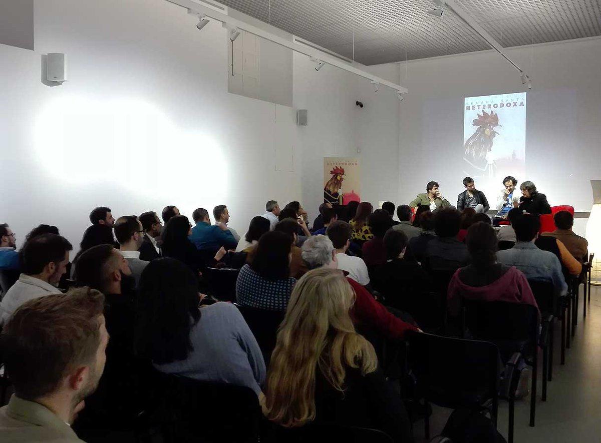Desde 2017, #CICUS @unisevilla acoge un singular evento en torno a la #SemanaSanta de Sevilla, el #TriduoHeterodoxo, organizado por @lamuyrevista, en colaboración con @paseoeditorial, @josemariarondon y @CesarRinad, que cumplía este año su cuarta edición  https://t.co/WDCOk14HfP https://t.co/aao33xpcwM