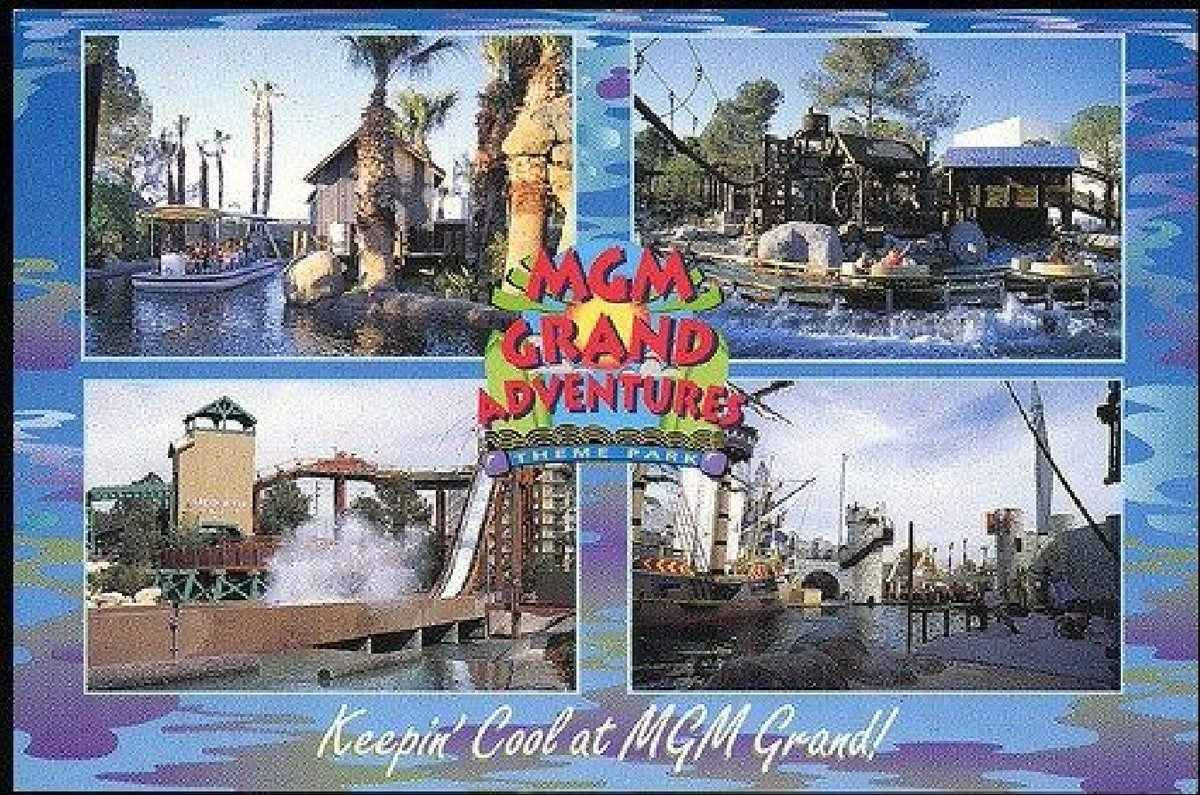 """Back in the 90's, #Vegas tried to be a """"family destination"""". MGM Grand Adventures Theme Park was open from 1993-2000. In 2001 a smaller park was open only for special events. It closed completely in 2002. pic.twitter.com/LNlCAdU6XV"""