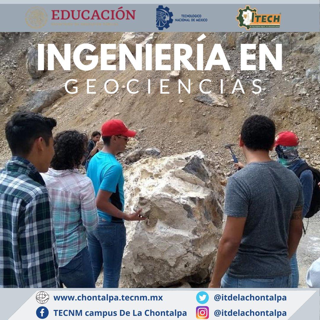 #TecNM campus La Chontalpa, Ingeniería en Geociencias.  Convocatoria Nuevo Ingreso al periodo Agosto-Diciembre 2020:  https://chontalpa.tecnm.mx/NuevoIngreso.aspx… Solicitud de registro: https://bit.ly/33Dcwfp  #SomosTuMejorOpción #IGEO #AtréveteABrillar #SomosTecNMcampusLaChontalpapic.twitter.com/XVqnA7zi4q
