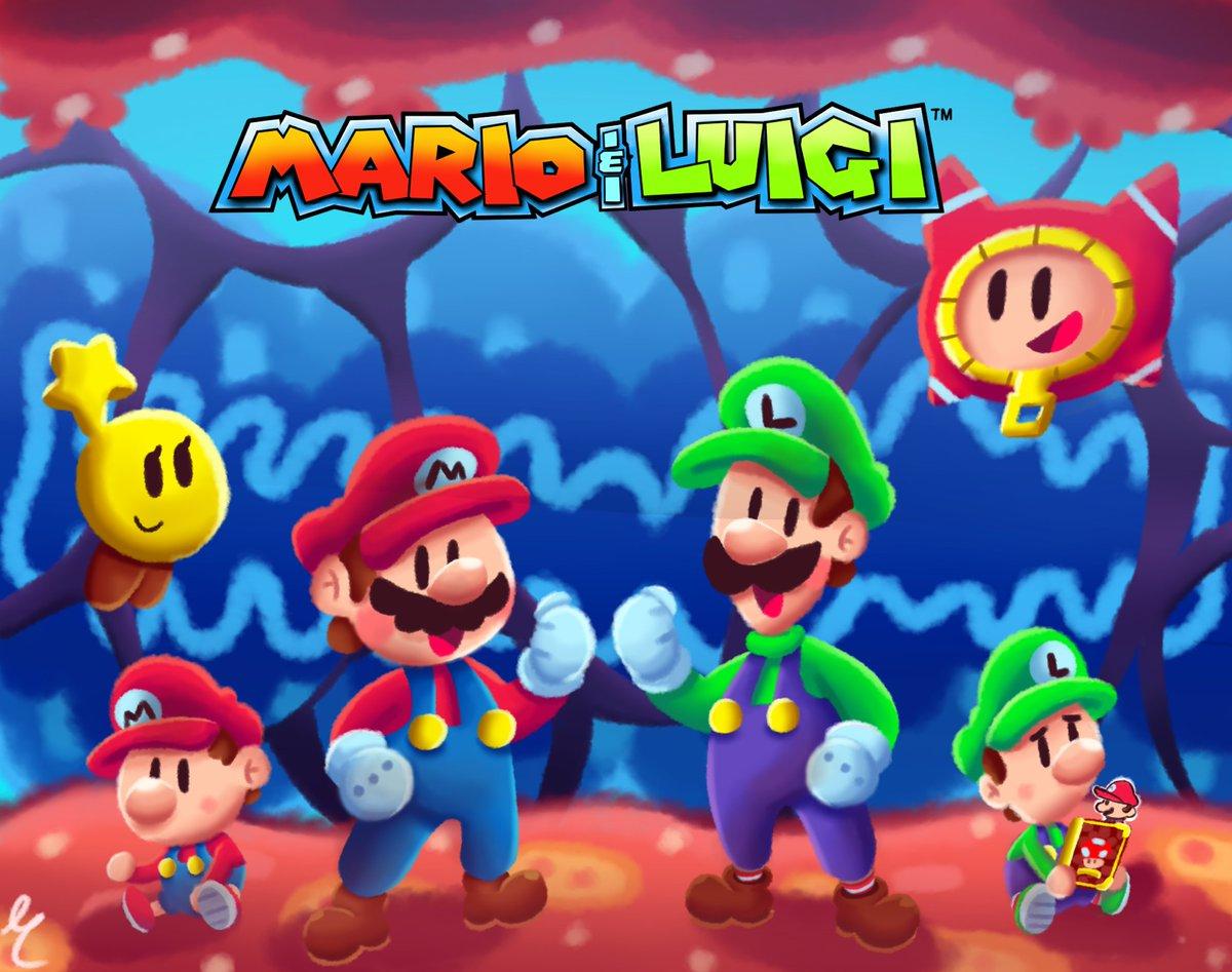 Darkspike75 On Twitter The Mario And Luigi Series Is Apart Of